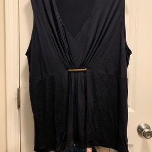 Michael Kors Black Tank Top